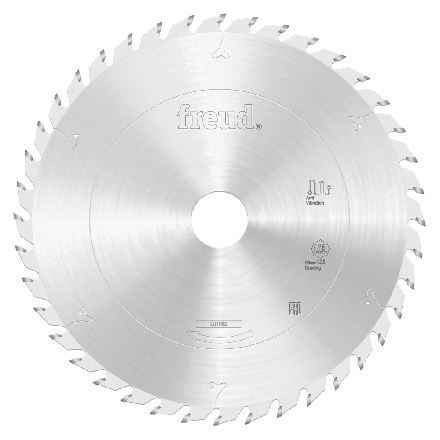 Freud LU1H02 185 1.5 25.4 Z=40 ATB ICE 185mm Thin Kerf Carbide Tipped Blade for Ripping & Crosscutting