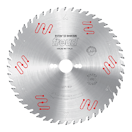 Freud LU1H07 250 2.5 30 Z=48 ATB ICE 250mm Thin Kerf Carbide Tipped Blade for Ripping & Crosscutting