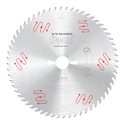 Freud LU1H08 250 2.5 30 Z=60 ATB ICE 250mm Thin Kerf Carbide Tipped Blade for Ripping & Crosscutting
