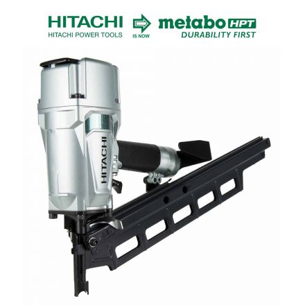 Hitachi NR83A5(S) 3-1/4 Inch Plastic Collated Framing Nailer (Without Depth Adjustment)