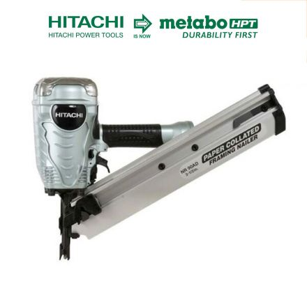 Hitachi NR90ADPR 3-1/2 Inch Paper Collated Framing Nailer