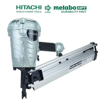 Hitachi NR90AES1 3-1/2 Inch Plastic Collated Framing Nailer (Replacement of NR90AE(S)/NR90AEPR)