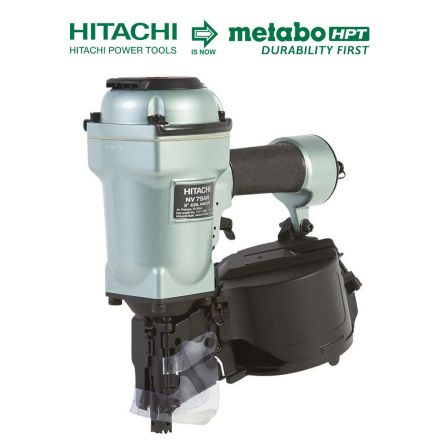 Hitachi NV75AN 3 Inch Coil Siding/Framing Nailer (Replacement of NV75AG)