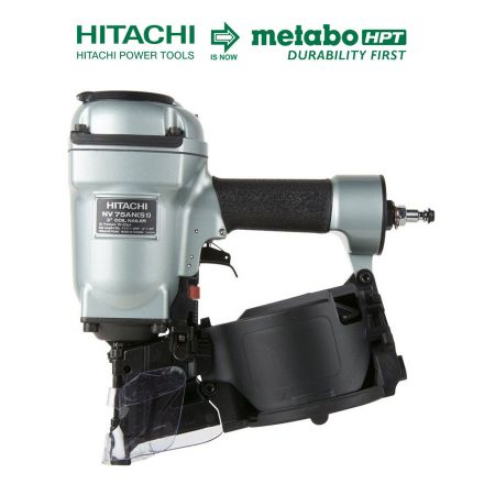 Hitachi NV75AN(S1) 3 Inch Pallet Nailer W/Round Nose