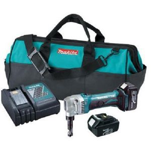 Makita XNJ01 18V LXT Lithium-Ion Cordless 16 Gauge Nibbler Kit (Replacement of LXNJ01)