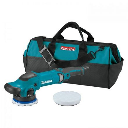 "PO5000CX1 Makita 5"" Dual Action Random Orbit Polisher, 7.8 AMP, 0-780 RPM, 0-6,800 OPM, var. spd., with foam pad and bag"