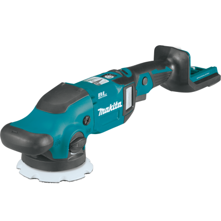 Makita XOP02Z 18V LXT® Lithium-Ion Brushless Cordless 5 Inch / 6 Inch Dual Action Random Orbit Polisher (Tool Only)