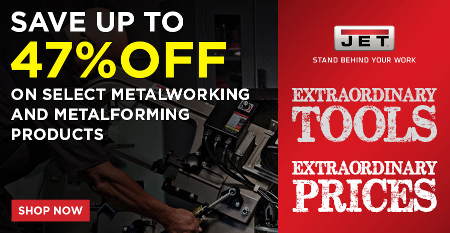 Get 47% Off on selected Metalworking