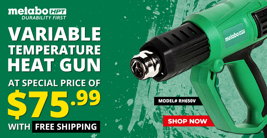 Metabo Heat Gun at Special price with Free shipping